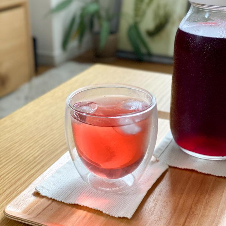 等身大の丁寧な暮らし。赤紫蘇ジュースのレシピと夏の生活の画像