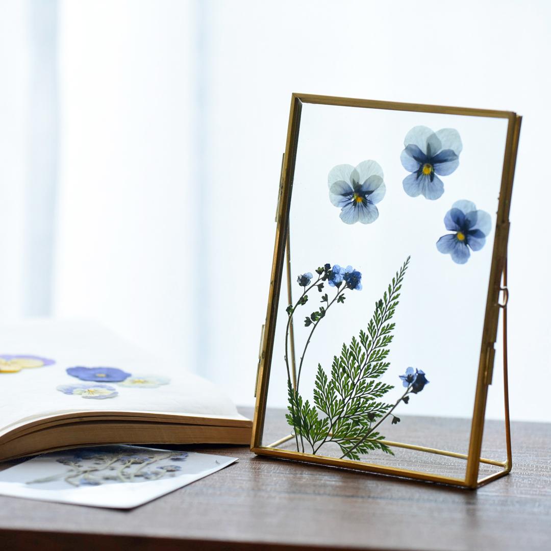 押し花 飾り方 フォトフレーム
