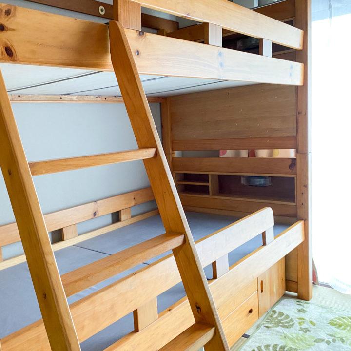 二段ベッドとのお別れ。家具やインテリアを買い替えるということの画像