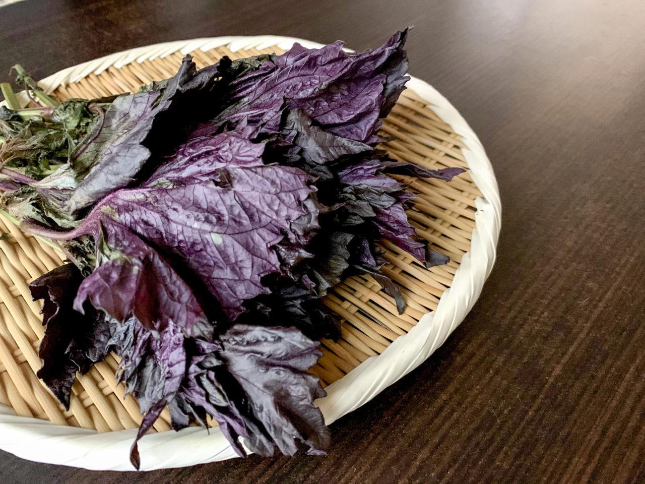 赤紫蘇 レシピ