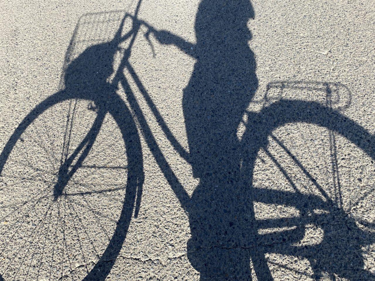 自転車_影