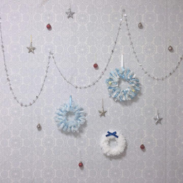 壁インテリアで雑貨を飾る、華やか一人暮らしの画像