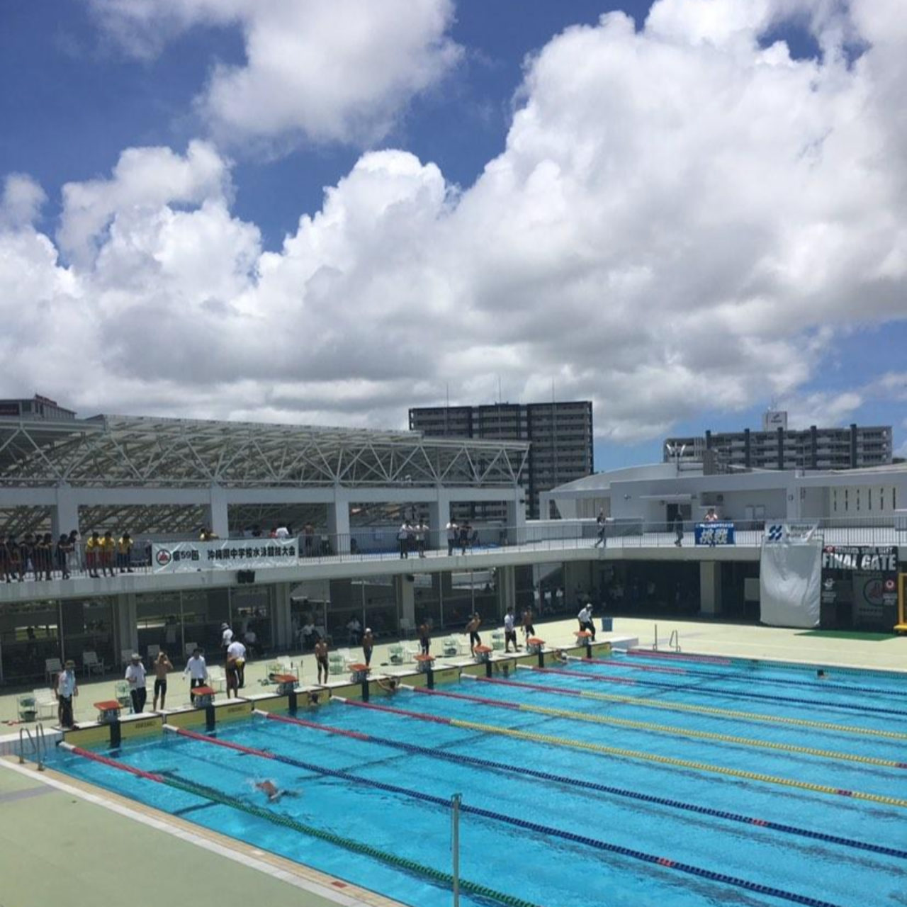 沖縄のプールと県大会