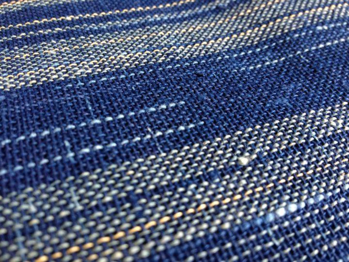 藍染め_紙布