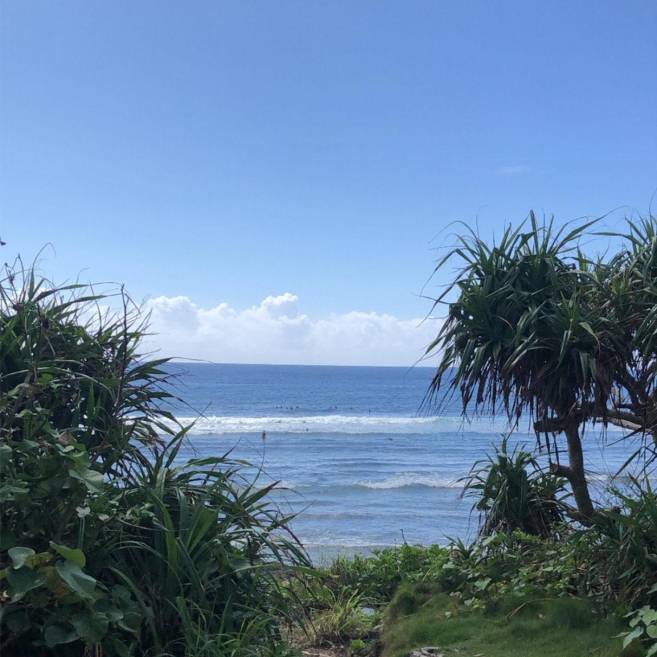 沖縄の海とサーフィン