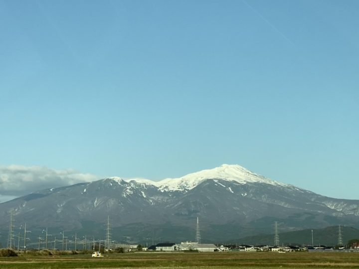 山_鳥海山