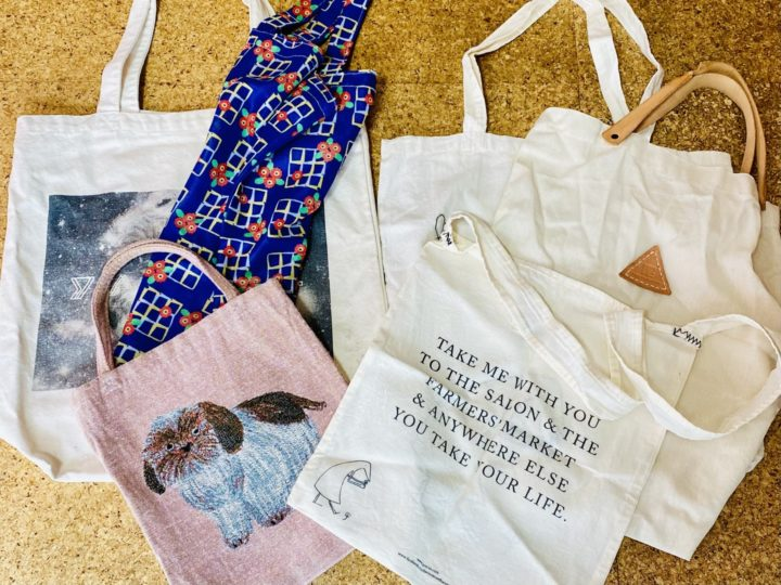 集めがちなエコバッグや布バッグ、収納方法を試してみましたの画像