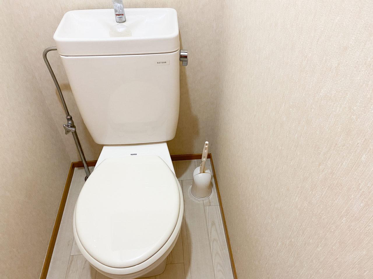 トイレブラシあり
