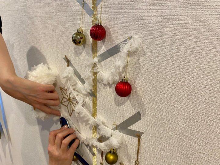 クリスマスツリー_毛糸