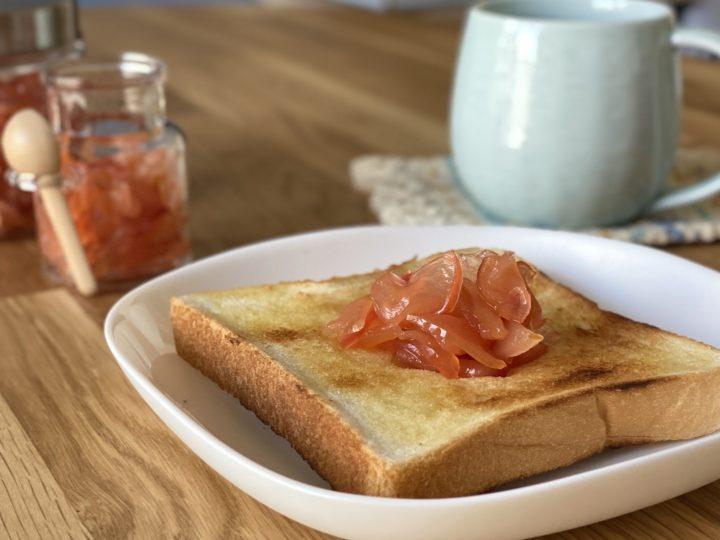 レンジで簡単!りんごジャム 手作りで暮らしにちょっといい食生活の画像