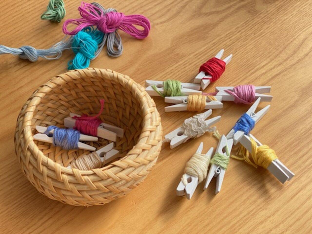 刺繍糸_かご