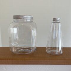 おすすめの透明なプラスチック容器の画像