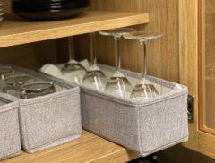 ワイングラス 収納 ケース 食器棚
