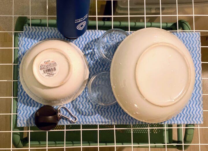 結論!食器棚はいらない!|狭め一人暮らしさんの食器収納とは?の画像
