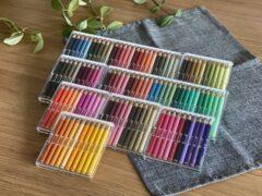 誕生日プレゼントは、100色以上がそろった色鉛筆セット