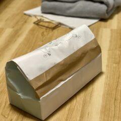 紙袋を梱包材に