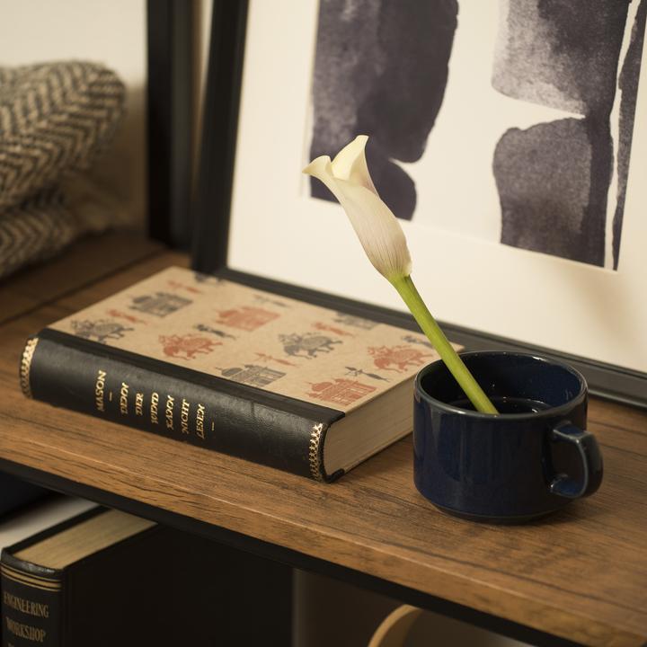 花 マグカップ 飾り方