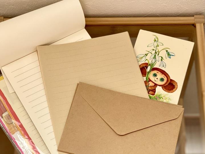 レターセットの収納。思いを伝える便箋たちを大切に保管しようの画像