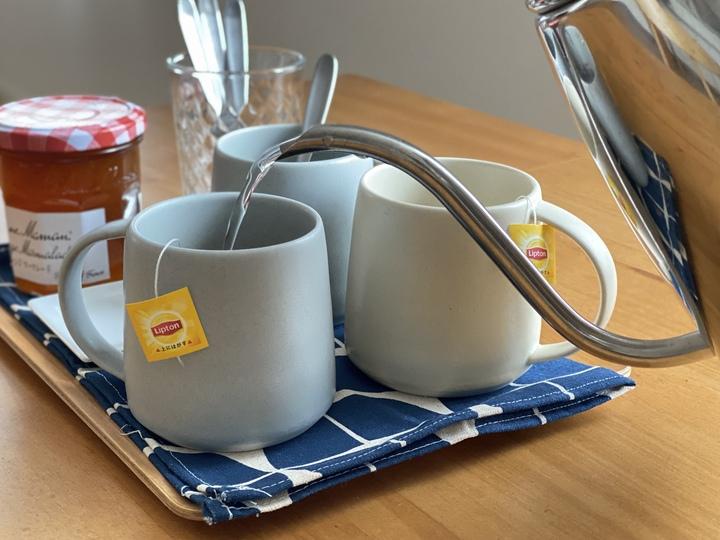紅茶を淹れてほっと一息