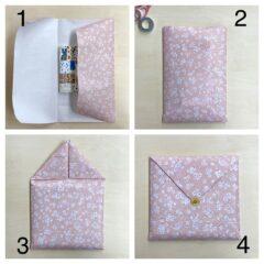包装紙を使った、本の簡単な包み方