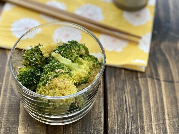 お弁当に、常備菜に、ブロッコリーの胡麻和え