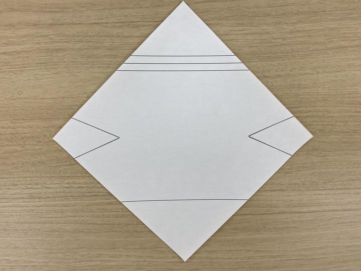 かぶとの型紙