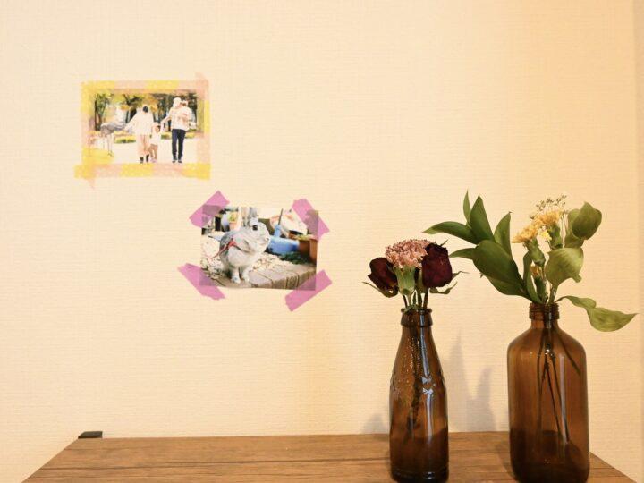 壁を傷つけない!写真や絵をおしゃれに飾る雑貨活用法の画像