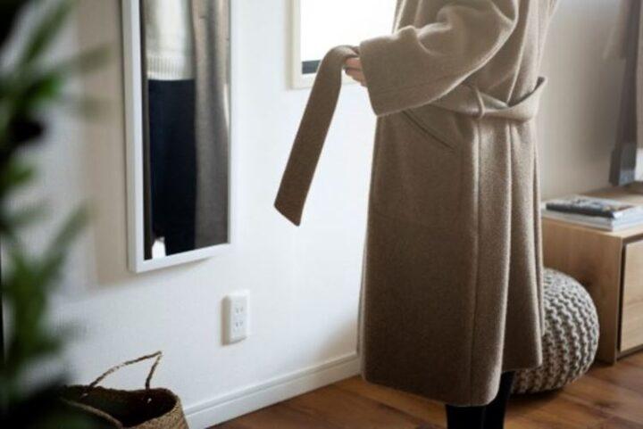 しまいすぎない収納で、朝支度を快適に。の画像