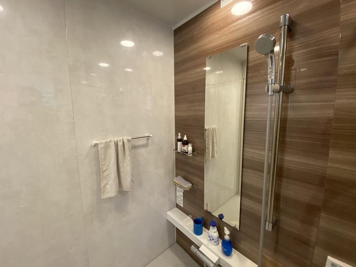 お風呂、浴室のようす