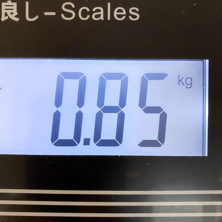 重さを測る画像