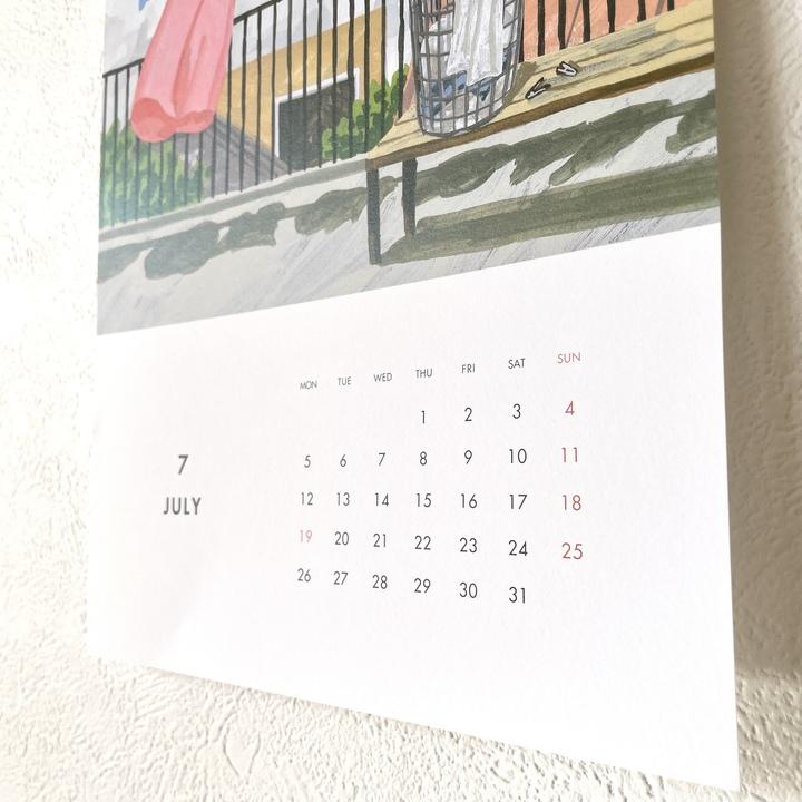 カレンダー_観葉植物_初心者_おすすめ