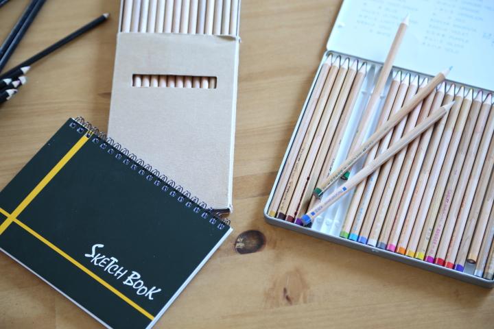 画材収納~雑貨をつかって手芸おしゃれに使い易い手芸収納の画像