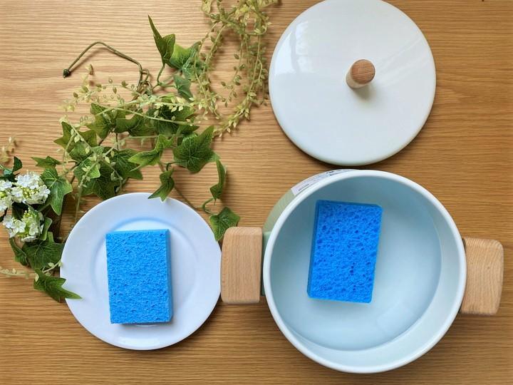 セルローススポンジは煮沸消毒可能で清潔・衛生性抜群!の画像