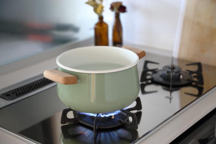 プラスチックの煮沸消毒_沸騰させる