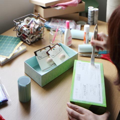 空き箱はリメイクで変身★暮らしを楽しむエコ雑貨の作り方の画像