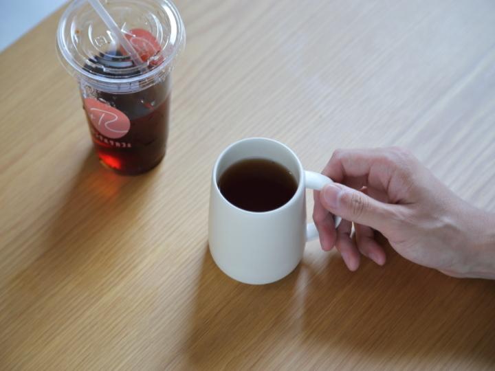 外出先でのコーヒーの染み抜き