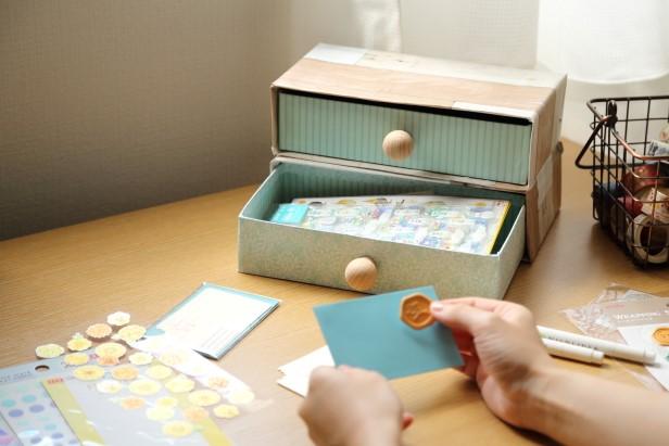 空き箱を引き出しにリメイク!暮らしを彩る収納を楽しもうの画像
