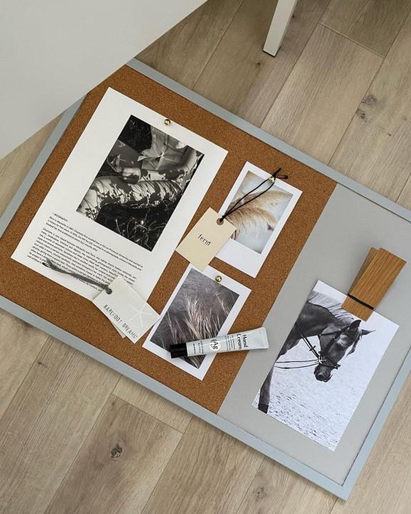 ポストカードの飾り方|コルクボードで暮らしに特別な居場所作りの画像